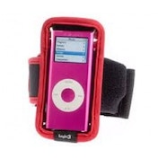 Logic 3 iPod Nano Arm Band Red