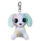 Lumo Stars Mini Keyring - Dog Spotty Plush Toy