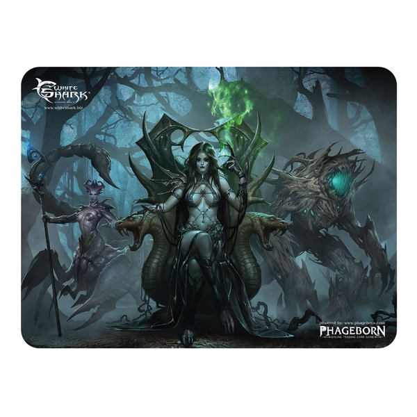 White Shark Gaming Mp-1896 Phageborn Vestige Gaming Mousepad (400 x 300mm)