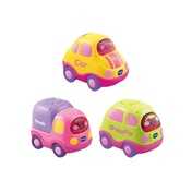 VTech Toot-Toot Drivers 3 Car Pack Everyday Vehicles Pink