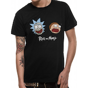 Rick And Morty - Heads Men's Medium T-Shirt - Black