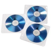 Hama Pockets for 50 CD/DVD in a binder - White