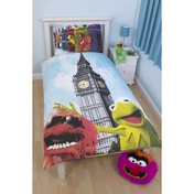 Disney Muppets Postcard Single Panel Duvet Set