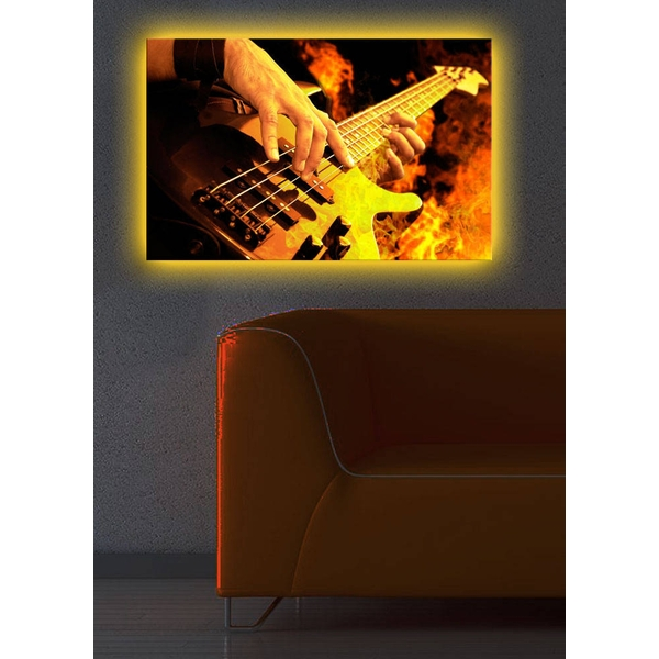 4570DACT-13 Multicolor Decorative Led Lighted Canvas Painting