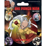 One Punch Man Vinyl Sticker