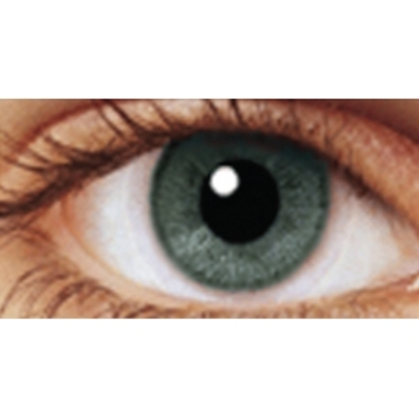 Pure Grey 1 Month Coloured Contact Lenses (MesmerEyez Illusionz)