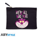 DISNEY - We're all mad here Blue Cosmetic Case - Image 2