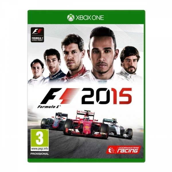 (Pre-Owned) Formula 1 F1 2015 Xbox One Game Used - Like New