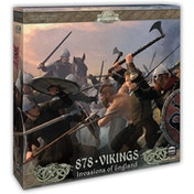 878 Vikings Invasion of England 2nd Edition Card Game