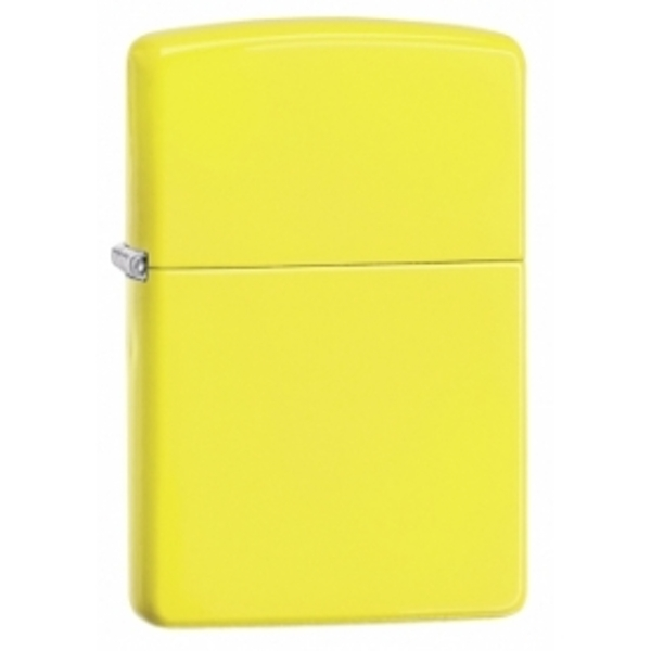 Zippo Regular Neon Yellow Windproof Lighter
