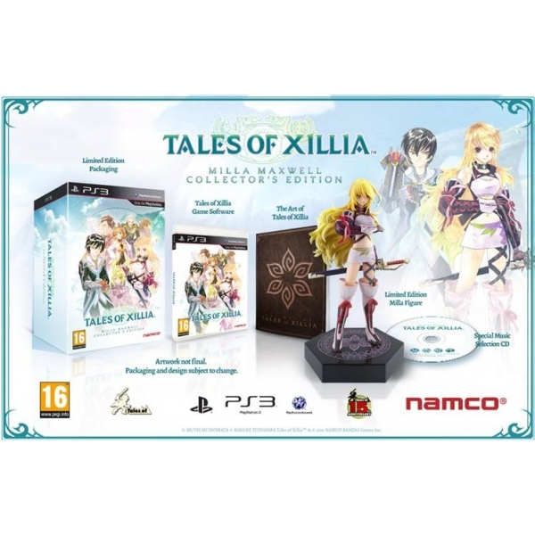 Tales of Xillia Millia Maxwell Collector's Edition Game PS3