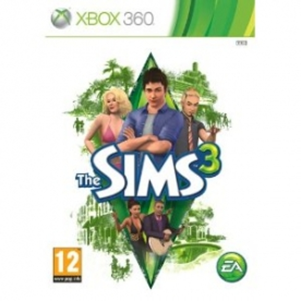 The Sims 3 Game Xbox 360