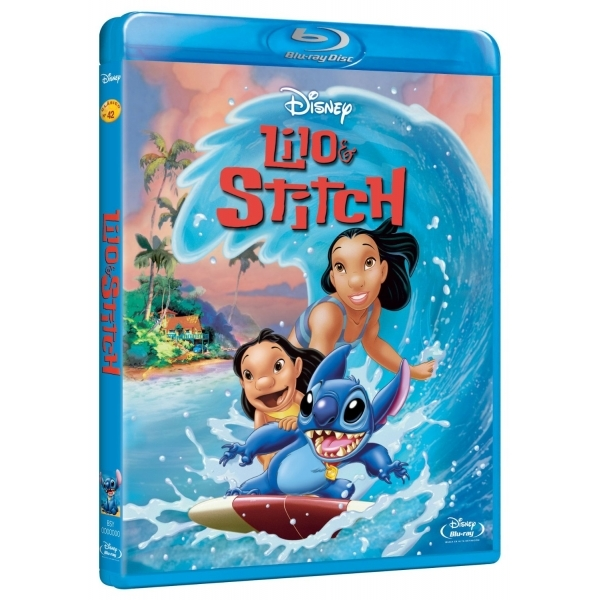 Disney Lilo & Stitch Blu-ray
