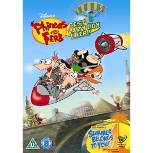 Phineas & Ferb Best Lazy Day Ever DVD