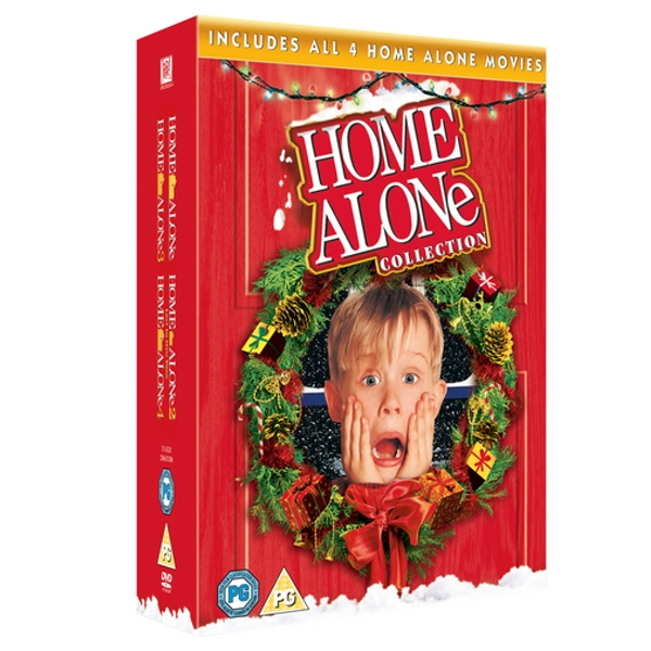 Home Alone Collection: Home Alone 1-4 DVD