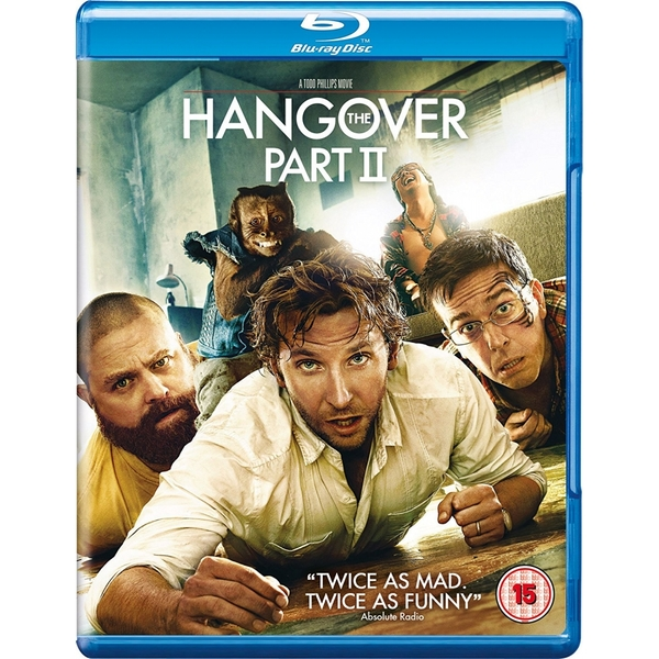 The Hangover Part II Blu-ray (Region Free)