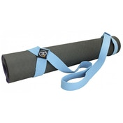 Fitness Belt & Mat Carry Strap Light Blue