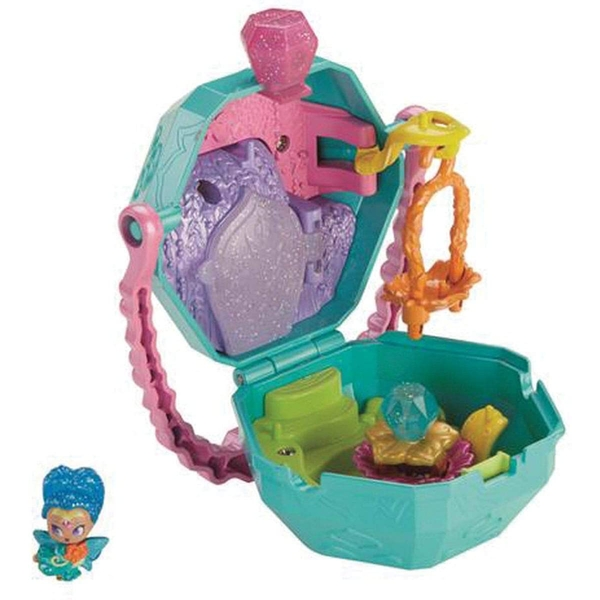 Fisher-Price Shimmer & Shine Teenie Genies - Flower Sprites On-the-Go Playset