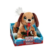 Snuggle Pets Peppy Pups Brown Dog