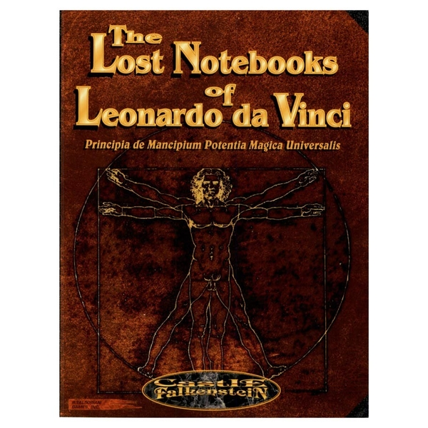 The Lost Notebooks of Leonardo DaVinci Castle Falkenstein RPG