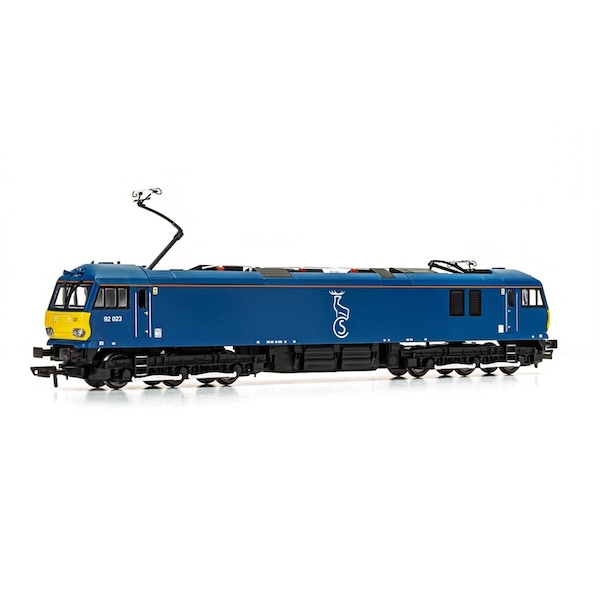 Hornby Caledonian Sleeper Class 92 Co-Co 92023 Era 10 Model Train