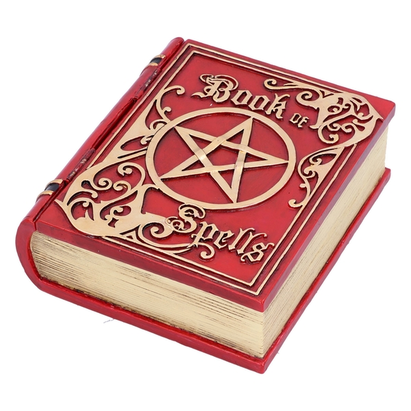 Book of Spells Red Storage Box