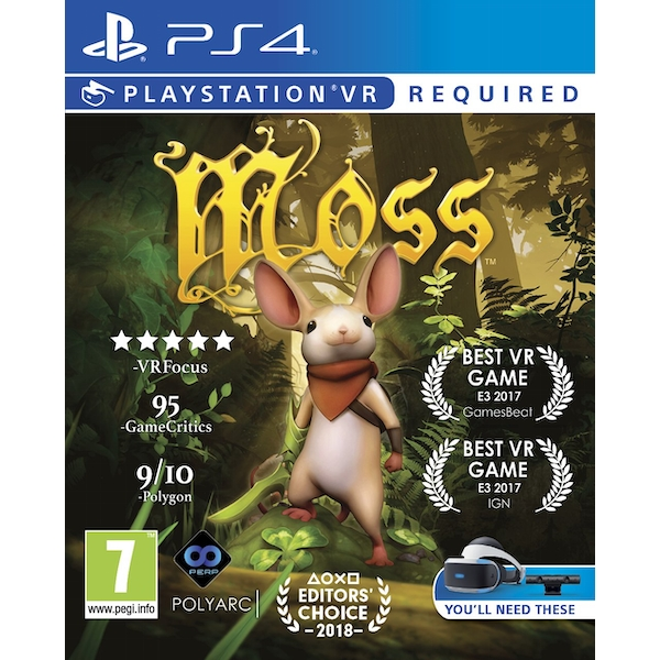 Moss PS4 Game (PSVR Required)