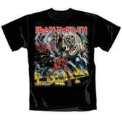 Iron Maiden Number of The Beast Mens T Shirt: Large