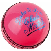 Dukes Club Match A Cricket Ball 5.5oz Pink