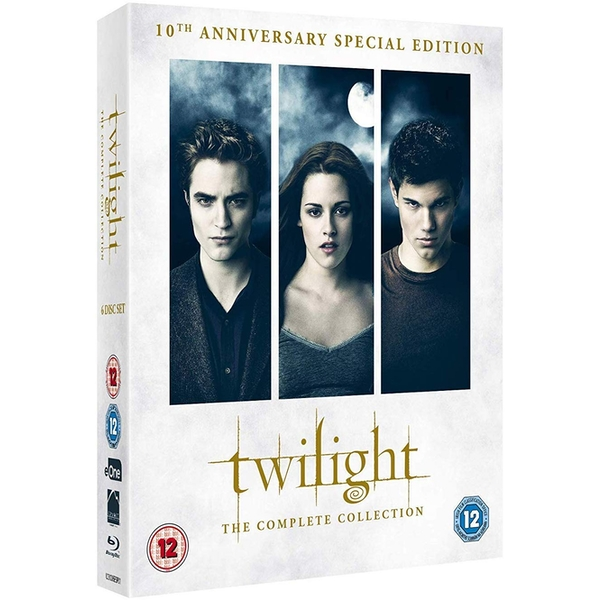 The Twilight Saga - The Complete Collection: 10th Anniversary Blu-ray