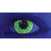 UV Suly Green 3 Month Coloured Contact Lenses (MesmerEyez MesmerGlow)