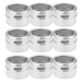 M&W Set Of 12 Magnetic Spice Tins - Image 2