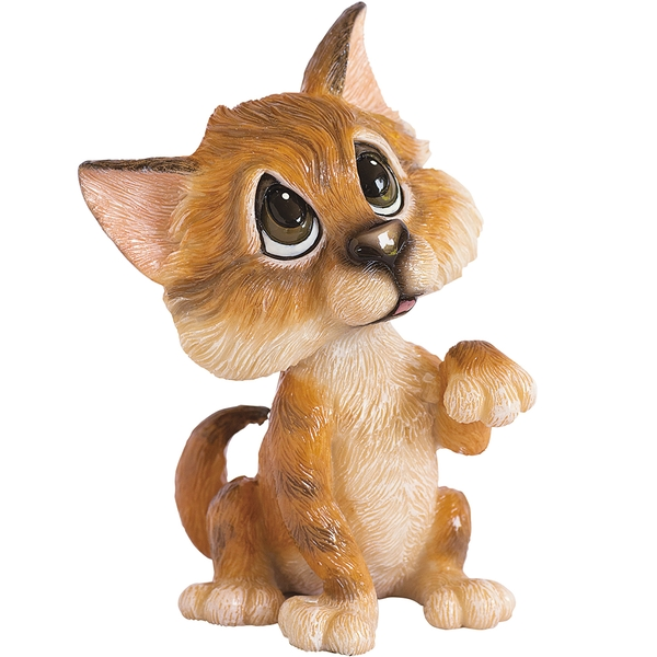 Little Paws Figurines Amber - Tabby Cat
