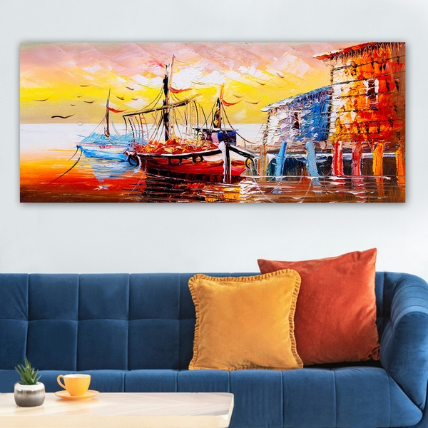 YTY394574059_50120 Multicolor Decorative Canvas Painting