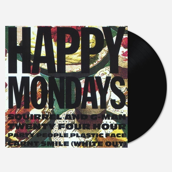 Happy Mondays – Squirrel And G-Man Twenty Four Hour Party People (White Out) Vinyl