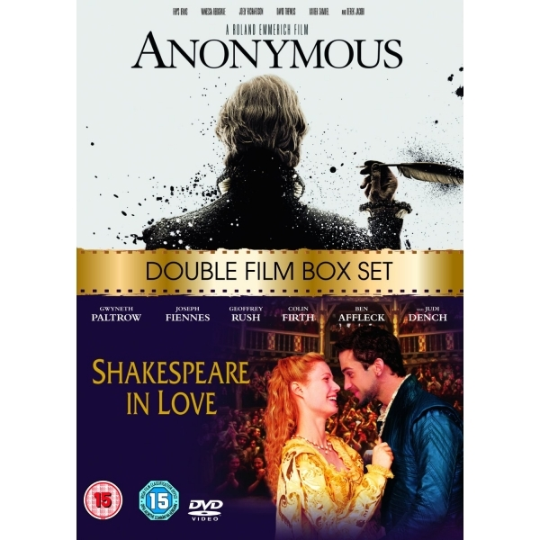 Anonymous (2011) / Shakespeare in Love (1999) DVD