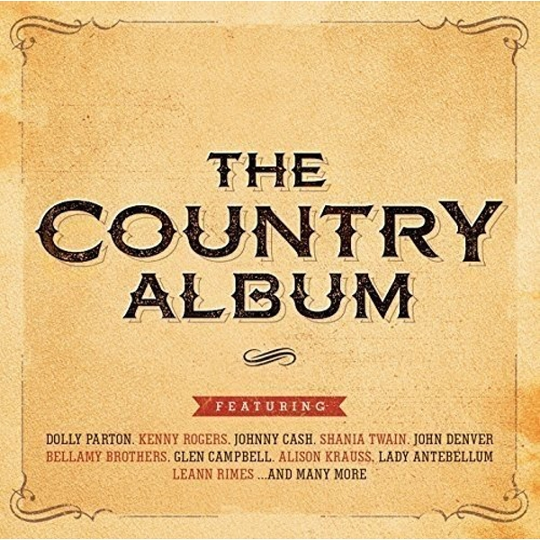 The Country Album CD