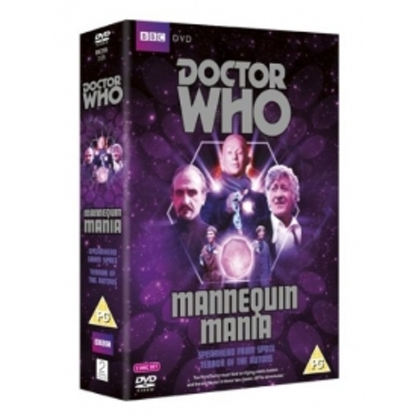 Doctor Who Mannequin Mania DVD