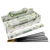 Citronella (Pack Of 6) Stamford Hex Incense Sticks