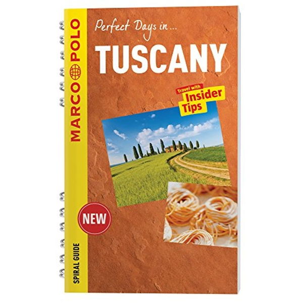 Tuscany Marco Polo Travel Guide - with pull out map  2015 Spiral bound