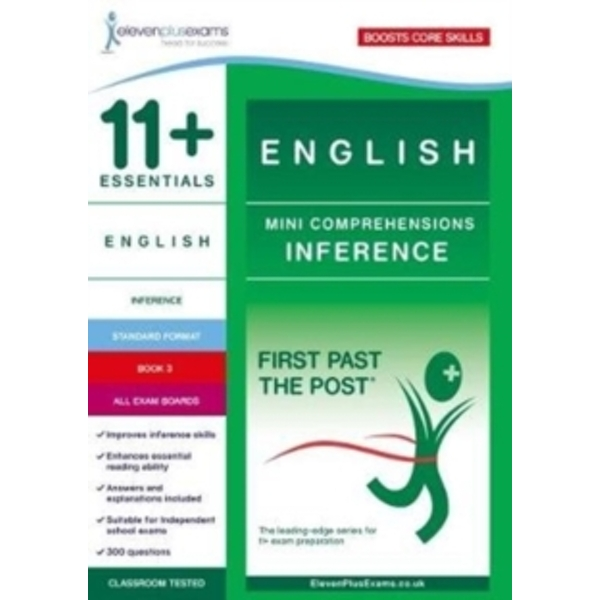 11+ Essentials English Mini Comprehensions: Inference Book 3