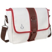 Assassin's Creed Canvas Messenger Bag White