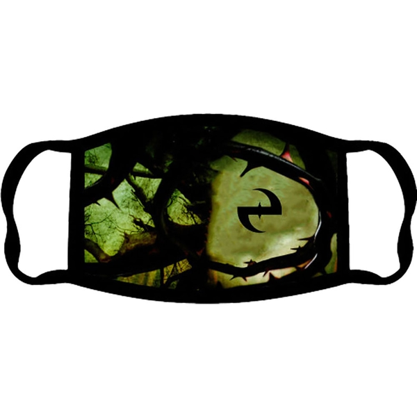 Evanescence - Anywhere But Here Face Mask - Black