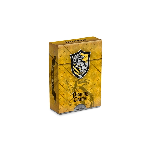 Image of Harry Potter House Playing Cards - Hufflepuff