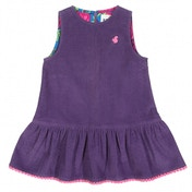 Kite Kids Baby-Girls 12-18 Months Pom-Pom Cord Pinafore Dress