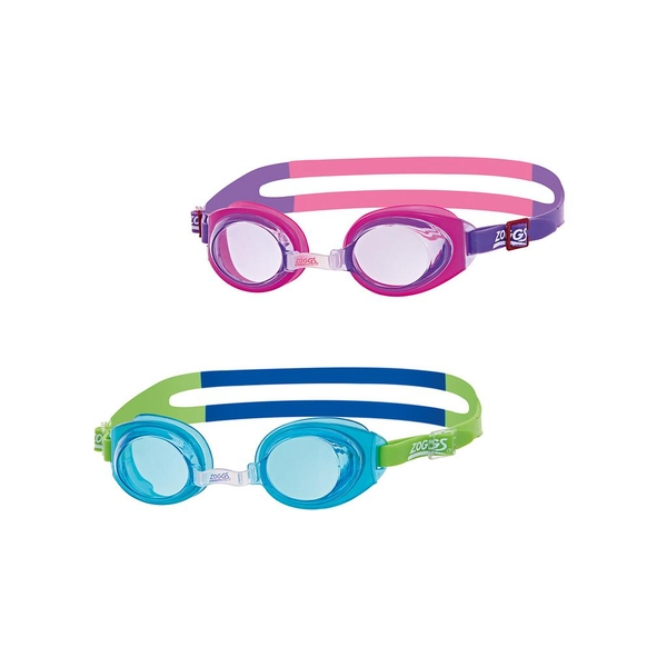 Zoggs Kids Little Ripper Goggles Pink/Purple/Clear Kids