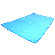 Quick Drying Microfiber Towel. Lightweight Home & Gym M&W Blue Small (50x30cm)
