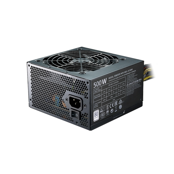 Cooler Master MasterWatt Lite 500W ATX Black power supply unit UK Plug