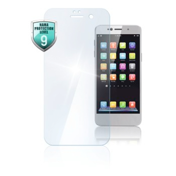"""Hama """"Premium Crystal Glass"""" Real Glass Screen Protector for Huawei Y7 (2018)"""