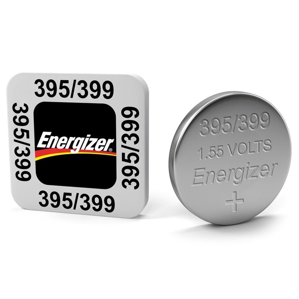 Energizer SR57/S74 395/399 Silver Oxide Coin Cell Battery